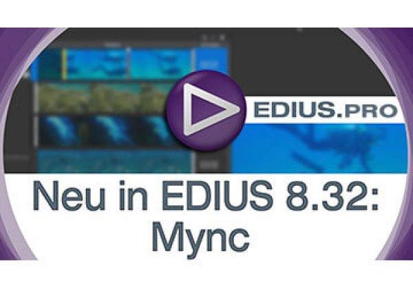 EDIUS 8.32 released