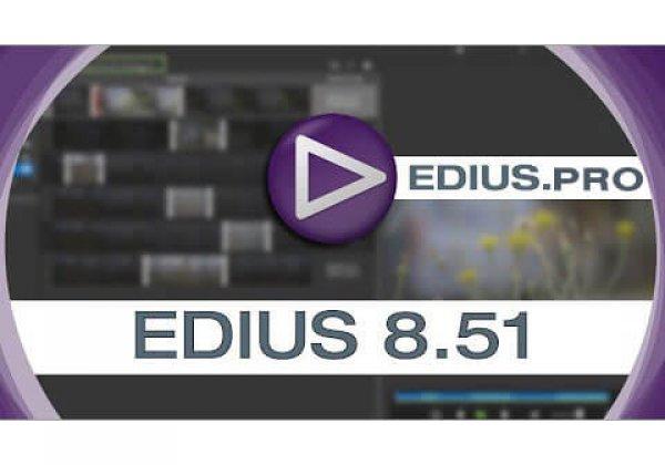 EDIUS 8.51.2125 released