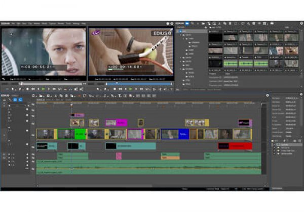 EDIUS.NET Report from NAB 2017: Grass Valley introduces EDIUS 8.5